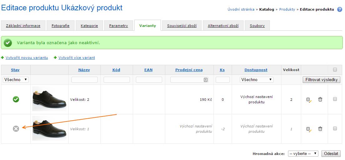 72964f1c7b3 Pokud již konkrétní produktovou variantu nechcete nabízet k prodeji