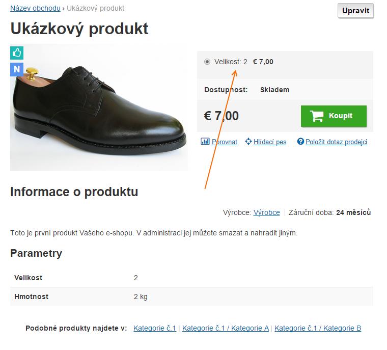 842169063f4 Můžete nabízet produkt pouze s 1 variantou